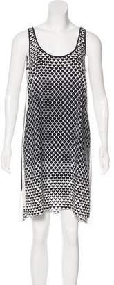 Club Monaco Silk Knee-Length Dress