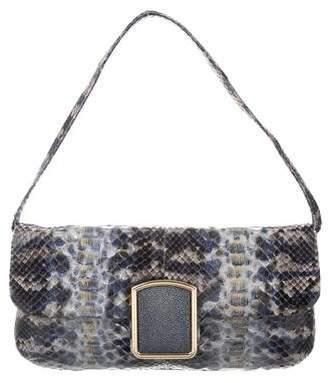 Kara Ross Python Shoulder Bag