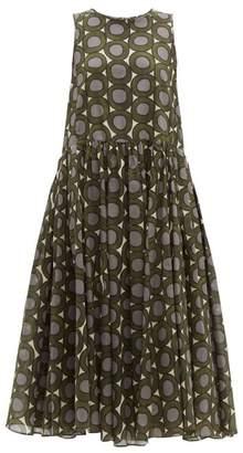 Max Mara S Murano Dress - Womens - Green Multi
