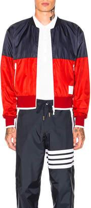 Thom Browne Bicolor Bomber Jacket