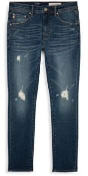 AG Adriano Goldschmied kids Boy's Distressed Jeans