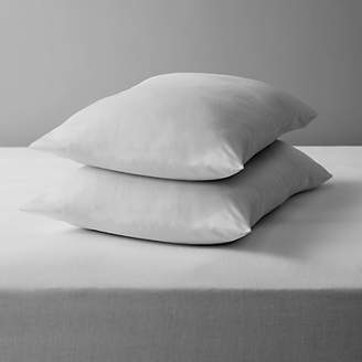John Lewis & Partners House by Microfibre Standard Pillow Pair, Soft/Medium