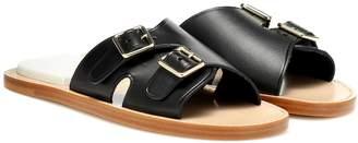 Acne Studios Leather slip-on sandals