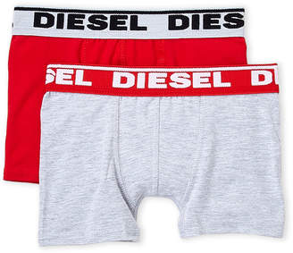 Diesel Boys 4-7) Two-Pack Solid Boxer Briefs