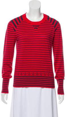 Marc by Marc Jacobs Striped Long Sleeve Sweater