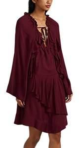 Women's Salene Crepe Dress - Wine Size 40