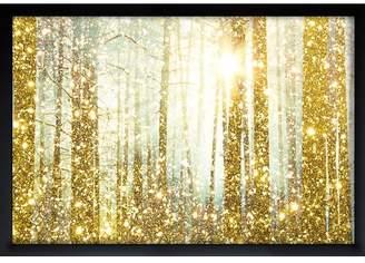 Willa Arlo Interiors 'Magical Forest Fashion Art' Format: Canvas,