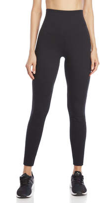 Yummie by Heather Thomson Black Quilted Moto Leggings