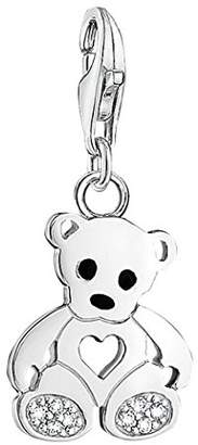 Thomas Sabo Pendant Teddy Bear with Heart Clasp Style Charms