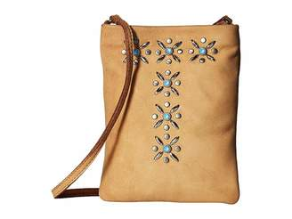 Leather Rock Claire Cell Pouch/Crossbody