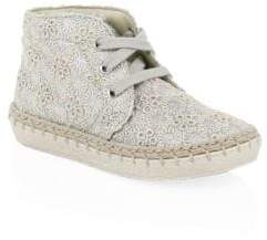 Naturino Baby's& Toddler's Falcotto Flower Embroidered Espadrilles