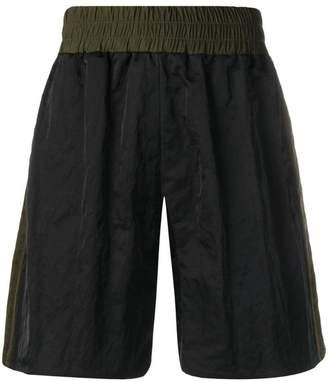 Maison Margiela panelled bermuda shorts
