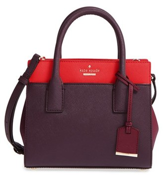 Kate Spade New York 'Cameron Street - Mini Candace' Leather Satchel - Brown $298 thestylecure.com