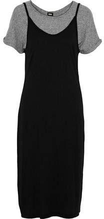 Layered Cotton And Modal-Blend Jersey Dress