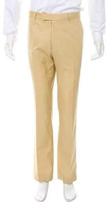 Maison Margiela Cropped Flat Front Pants