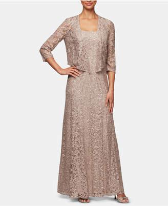 c58d09d61b5 Alex Evenings Beige Evening Dresses - ShopStyle