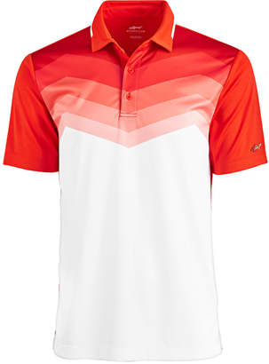 Greg Norman for Tasso Elba Men's Malden Ombre Stripe Performance Polo, Created for Macy's