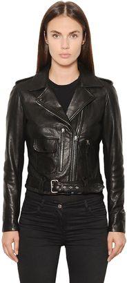 Nappa Leather Biker Jacket $1,595 thestylecure.com