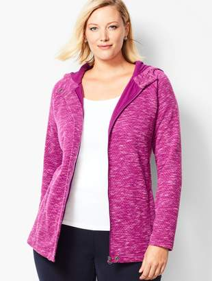 Talbots Quilted Hooded Jacket