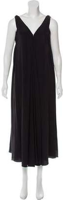 Maiyet Silk Sleeveless Asymmetrical Dress