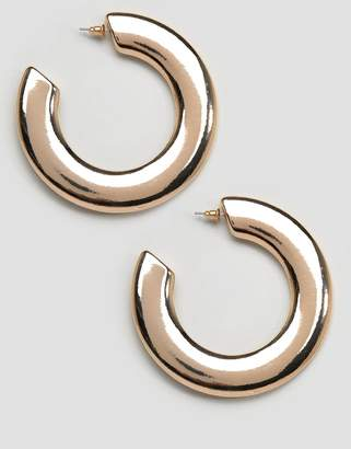 New Look Wide Hoop Earrings