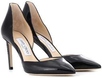 Jimmy Choo Liz 85 patent leather pumps