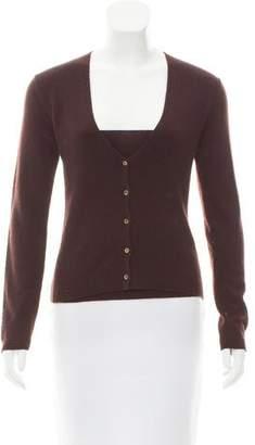 Malo Layered Rib Knit Sweater