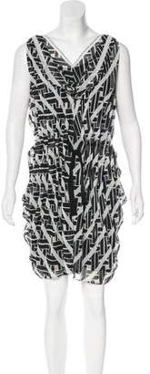 Diane von Furstenberg Silk Tulip Dress
