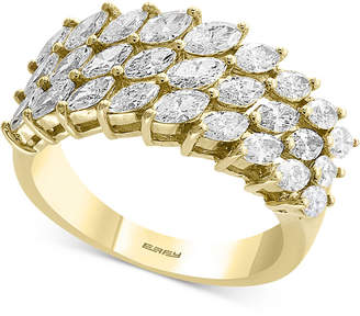 Effy D'Oro by Diamond Marquise Cluster Ring (1-3/4 ct. t.w.) in 14k Gold