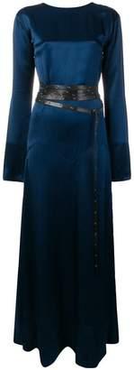 Sonia Rykiel backless belted dress