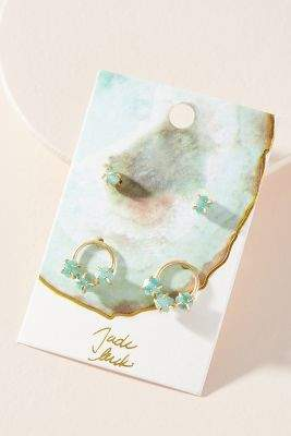 Anthropologie Well Wishing Earring Set