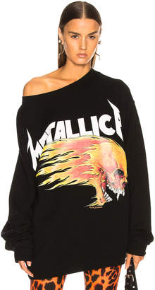 R 13 Flaming Skull Sweatshirt