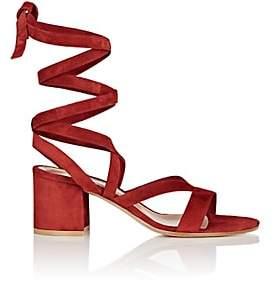 Gianvito Rossi Women's Janis Low Sandals - Granata
