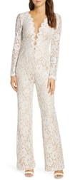 Tadashi Shoji Long Sleeve Lace Wedding Jumpsuit