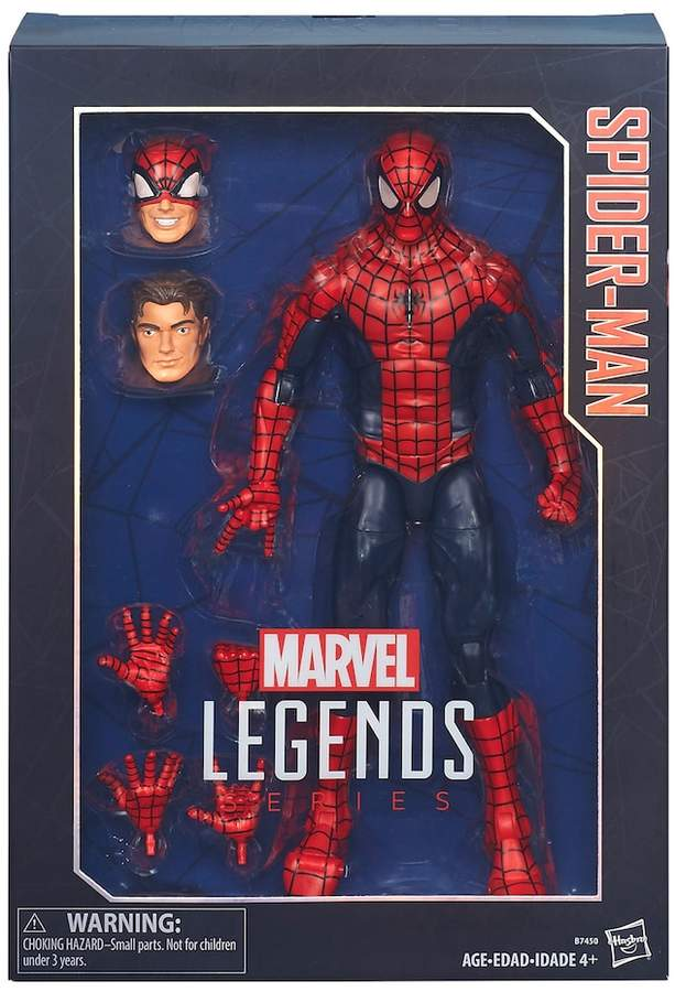 Hasbro Marvel Legends Series 12-in. Spider-Man by Hasbro