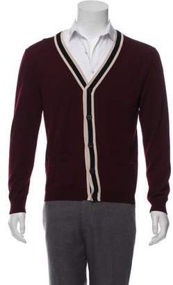 Gucci V-Neck Knit Cardigan