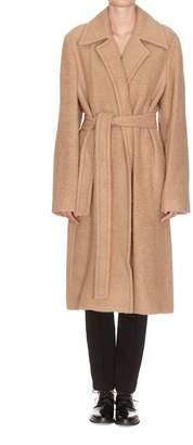 Helmut Lang Nappy Wool Coat