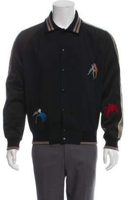Lanvin Embellished Coaches Jacket