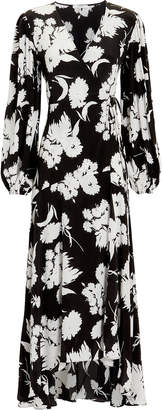 Ganni Kochhar Printed Wrap Dress