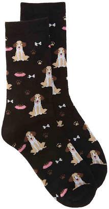 K. Bell Dog Crew Socks - Women's