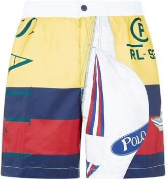 Polo Ralph Lauren Sailing Flag Swim Shorts