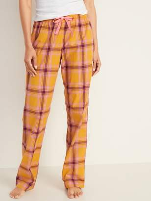 Old Navy Mid-Rise Printed Poplin Pajama Pants for Women