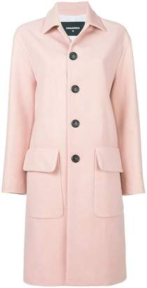 DSQUARED2 classic wool coat