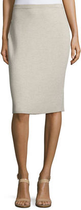 Eileen Fisher Washable Wool Crepe Pencil Skirt $198 thestylecure.com