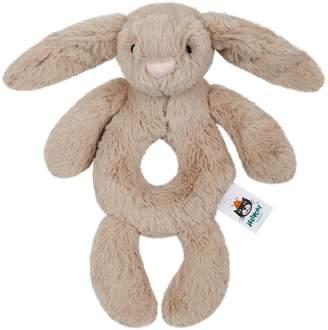 Jellycat Bashful Bunny Rattle (18cm)