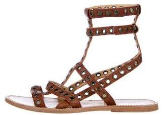 Isabel Marant Leather Gladiator Sandals