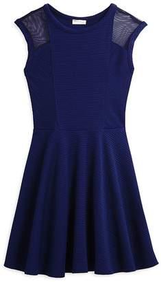 Sally Miller Girls' Mesh Cutout Dress - Big Kid