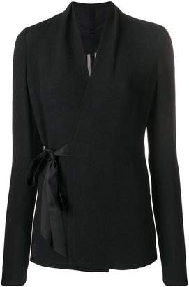 Rick Owens wrap-around blouse