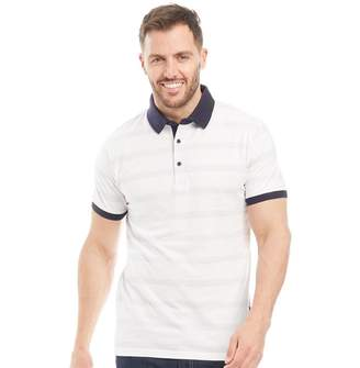 Peter Werth Mens Orchard Polo White