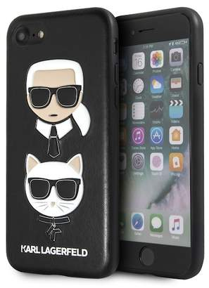 Karl Lagerfeld Embossed Hard iPhone Case
